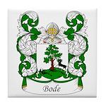 Bode Family Crest Tile Coaster