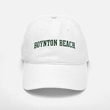 Boynton Beach (green) Baseball Baseball Cap