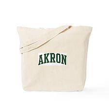 Akron (green) Tote Bag