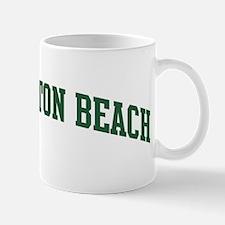 Huntington Beach (green) Mug