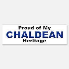Proud Chaldean Heritage Bumper Bumper Bumper Sticker