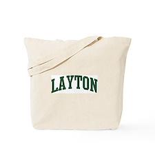 Layton (green) Tote Bag