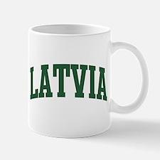 Latvia (green) Mug