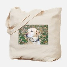 Yellow Lab #2 Portrait Tote Bag