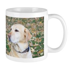Yellow Lab #2 Portrait Small Mug