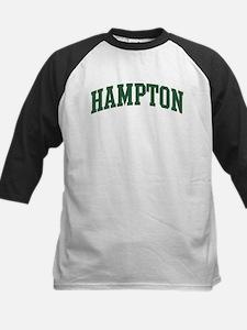 Hampton (green) Kids Baseball Jersey