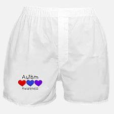 Autism Awareness (Hearts) Boxer Shorts