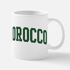 Morocco (green) Mug