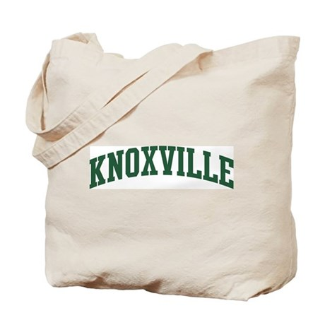 Knoxville (green) Tote Bag