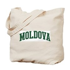 Moldova (green) Tote Bag