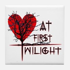 Love at First Twilight Tile Coaster