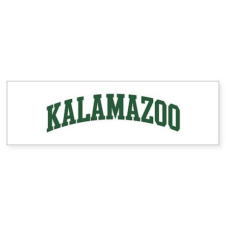 Kalamazoo (green) Bumper Sticker