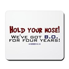 Hold your nose! Mousepad