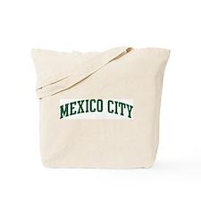 Mexico City (green) Tote Bag