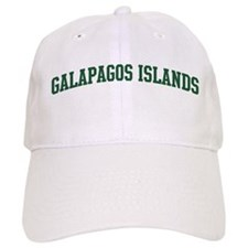 Galapagos Islands (green) Baseball Cap