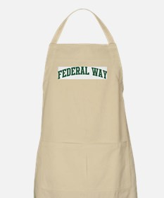 Federal Way (green) BBQ Apron