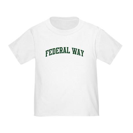 Federal Way (green) Toddler T-Shirt