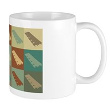 Xylophone Pop Art Small Mug