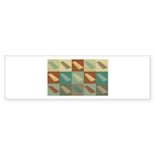 Xylophone Pop Art Bumper Sticker (10 pk)