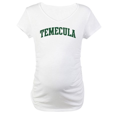 Temecula (green) Maternity T-Shirt