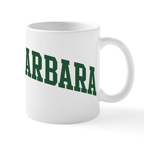 Santa Barbara (green) Mug