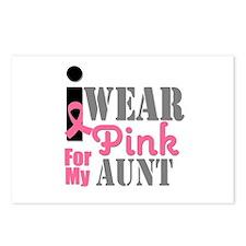 IWearPink Aunt Postcards (Package of 8)
