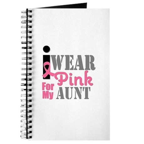 IWearPink Aunt Journal