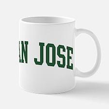 San Jose (green) Mug