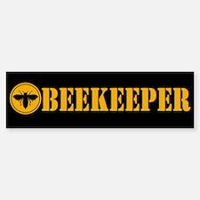 Beekeeper Stencil Bumper Bumper Bumper Sticker