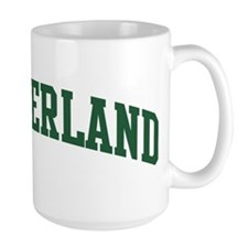 Switzerland (green) Mug