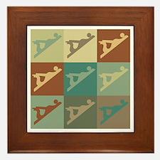 Woodworking Pop Art Framed Tile