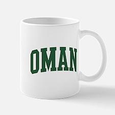 Oman (green) Mug