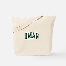 Oman (green) Tote Bag