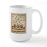 Vintage Bees (ts) Large Mug