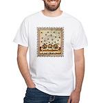 Vintage Bees (ts) White T-Shirt