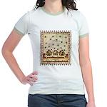 Vintage Bees (ts) Jr. Ringer T-Shirt