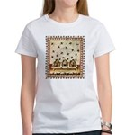 Vintage Bees (ts) Women's T-Shirt