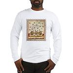 Vintage Bees (ts) Long Sleeve T-Shirt