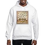 Vintage Bees (ts) Hooded Sweatshirt