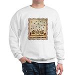 Vintage Bees (ts) Sweatshirt