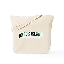 Rhode Island (green) Tote Bag