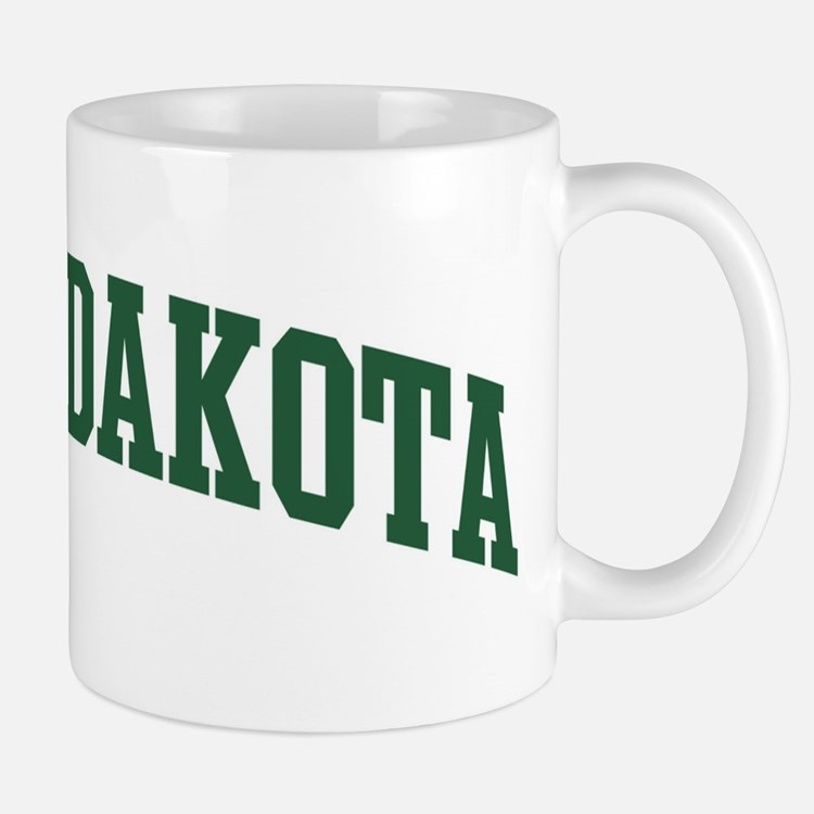 North Dakota (green) Mug