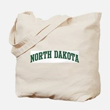 North Dakota (green) Tote Bag
