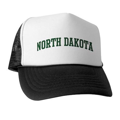 North Dakota (green) Trucker Hat