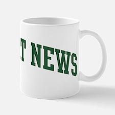 Newport News (green) Mug