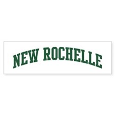 New Rochelle (green) Bumper Bumper Sticker