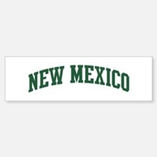 New Mexico (green) Bumper Bumper Bumper Sticker
