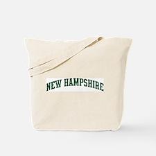New Hampshire (green) Tote Bag