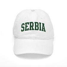 Serbia (green) Baseball Cap