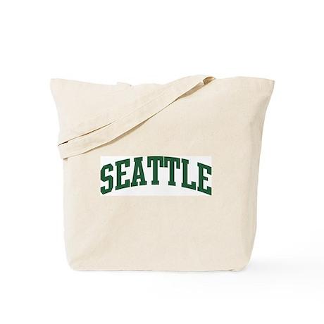 Seattle (green) Tote Bag